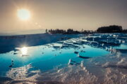 Pamukkale travertines