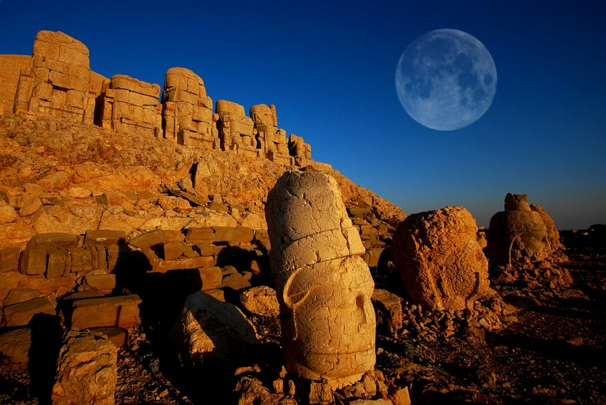 The Majestic Heads of Mount Nemrut