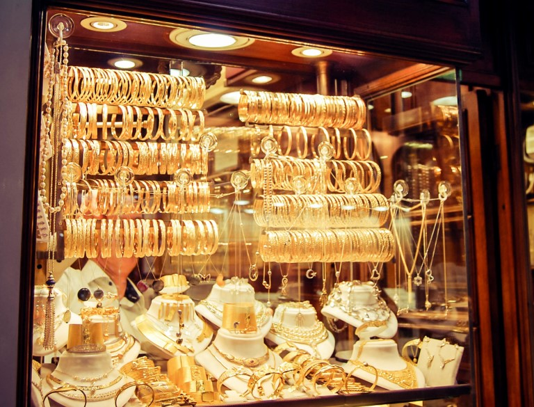 Gold sold in Turkey