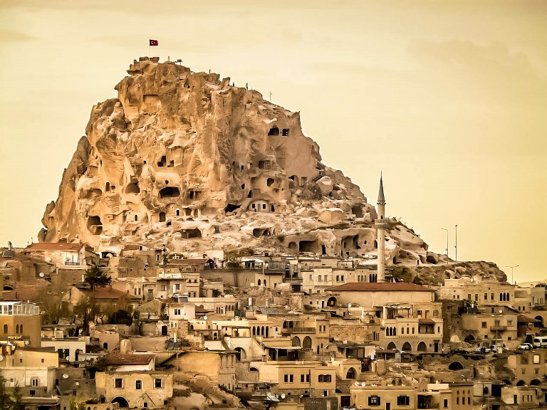 To see in Cappadocia, Turkey