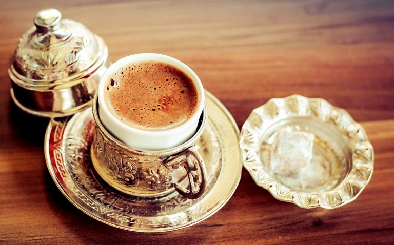 Turkish coffee souvenir