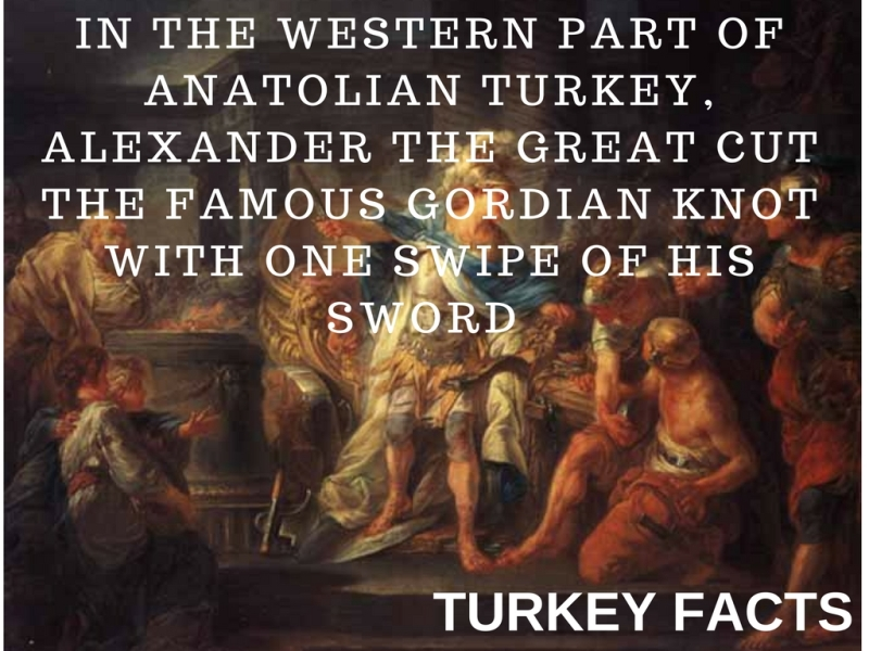 ALEXANDER THE GREAT GORDIAN KNOT