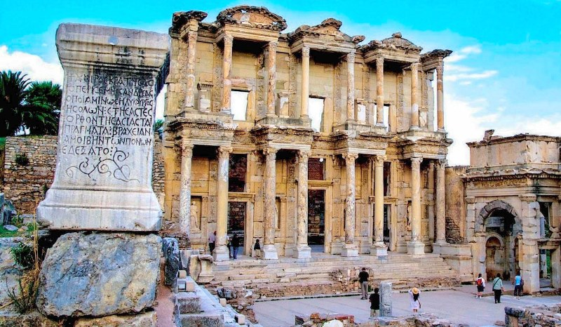 Visit Ephesus in Turkey