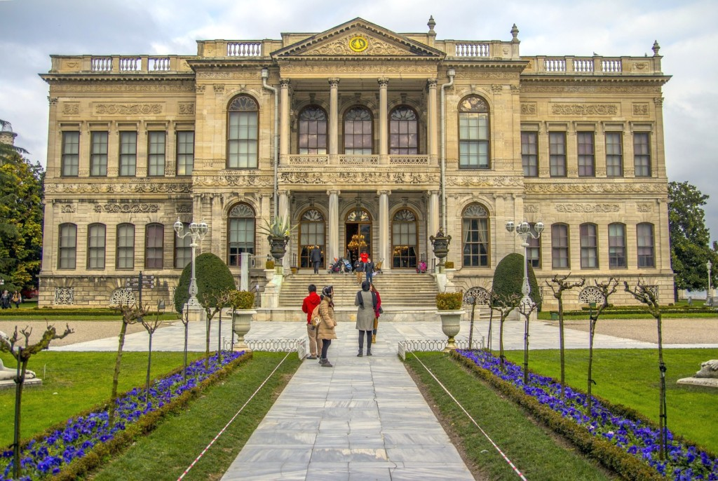 Ottoman palaces in Istanbul Turkey